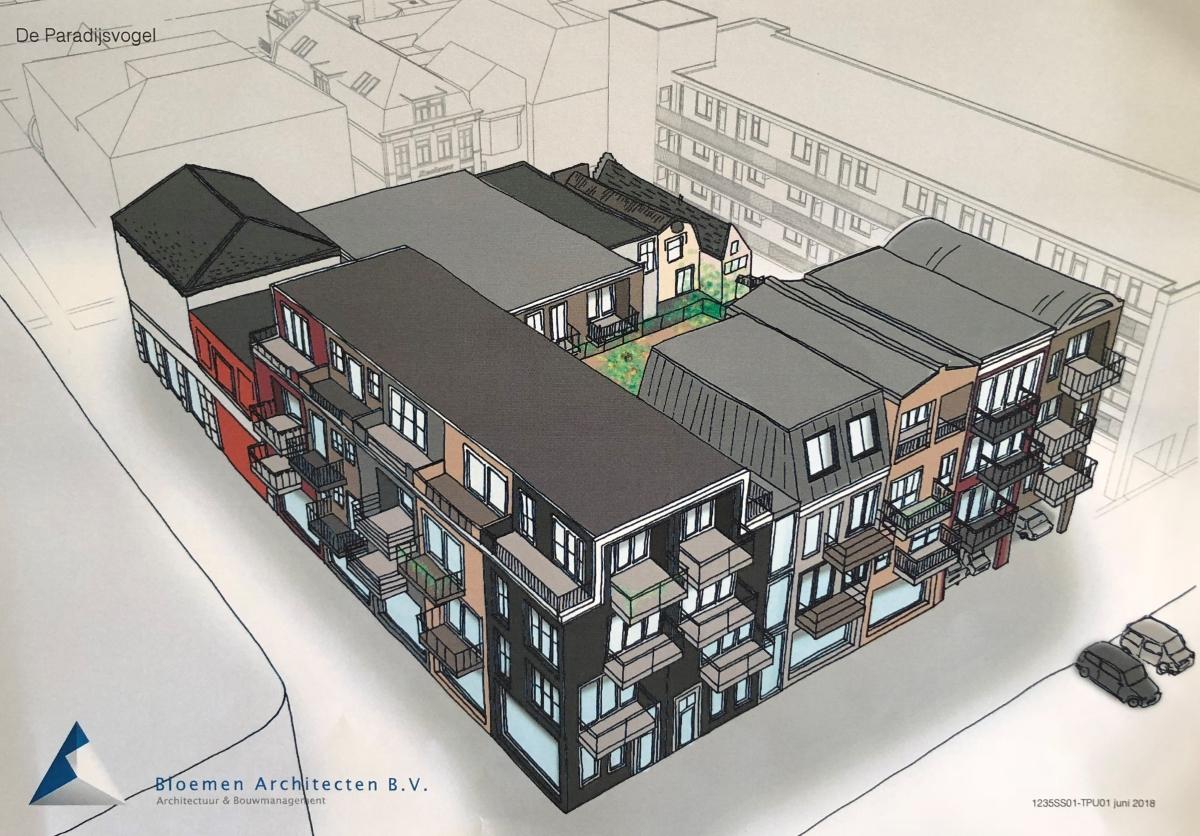 Binnenstedelijke bouwontwikkelingen in Alphen