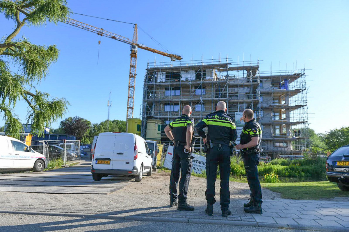 Steekincident bij nieuwbouw Rijnzate