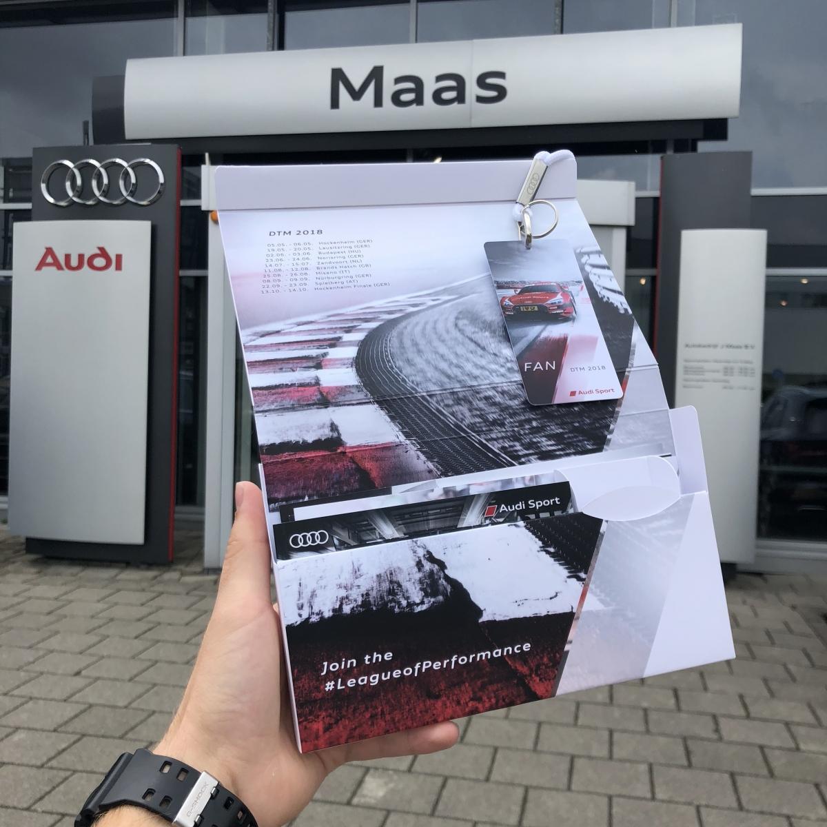 Maas Autogroep verloot kaarten voor DTM Zandvoort