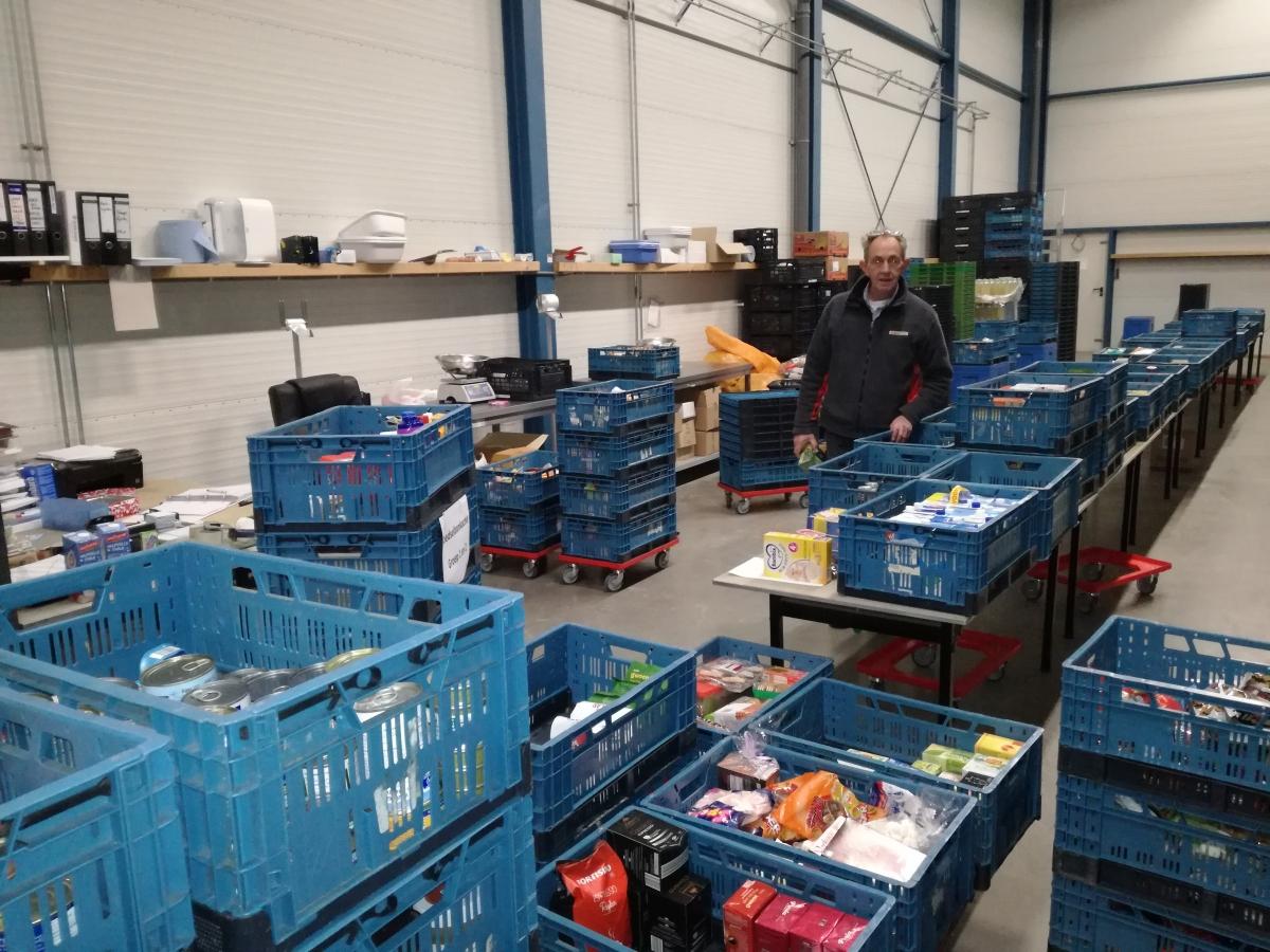 Voedselbank Alphen met spoed op zoek naar nieuwe magazijnman