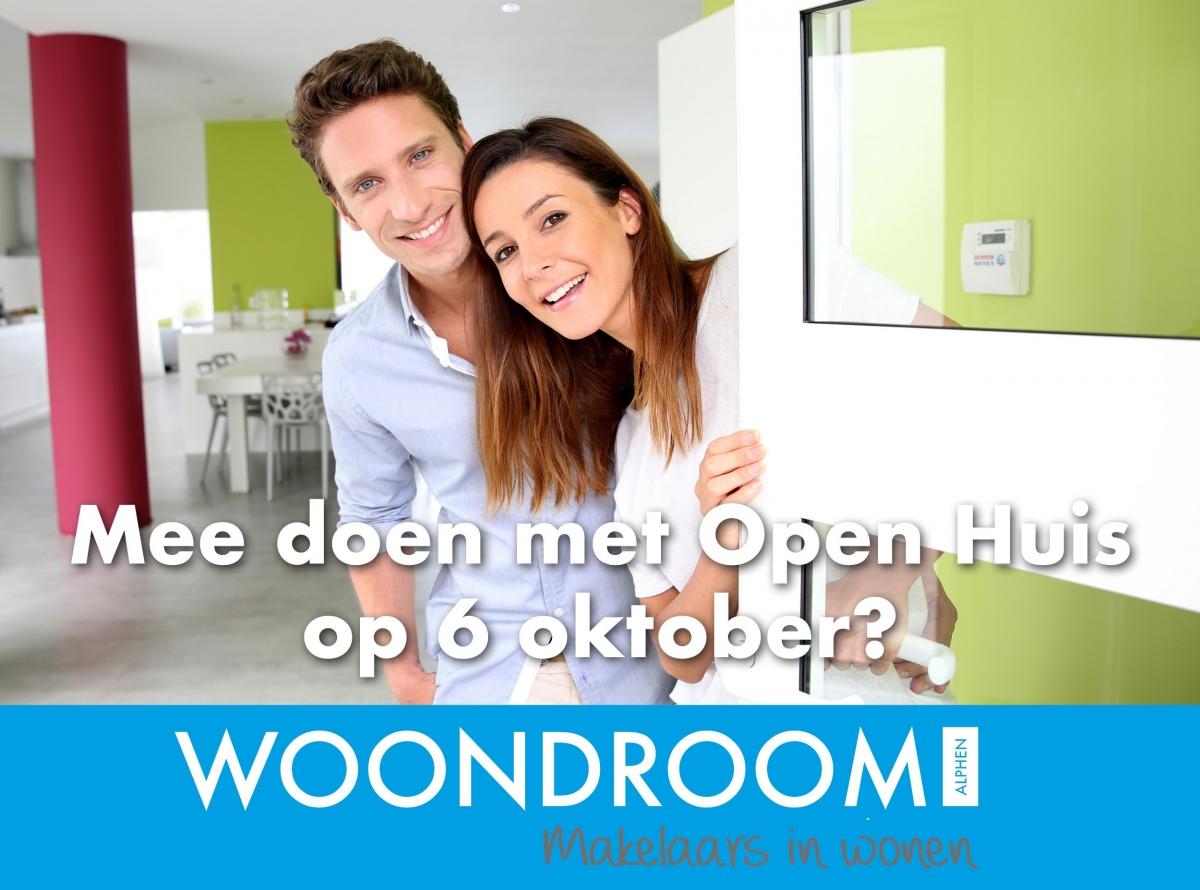Het Landelijke Open Huizen Dag op 6 oktober is het moment om je huis te verkopen!