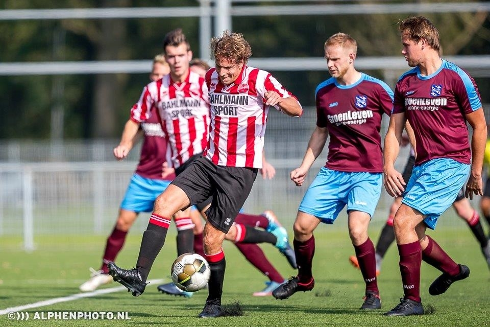 Overwinning van Alphense Boys 1 op Purmersteijn