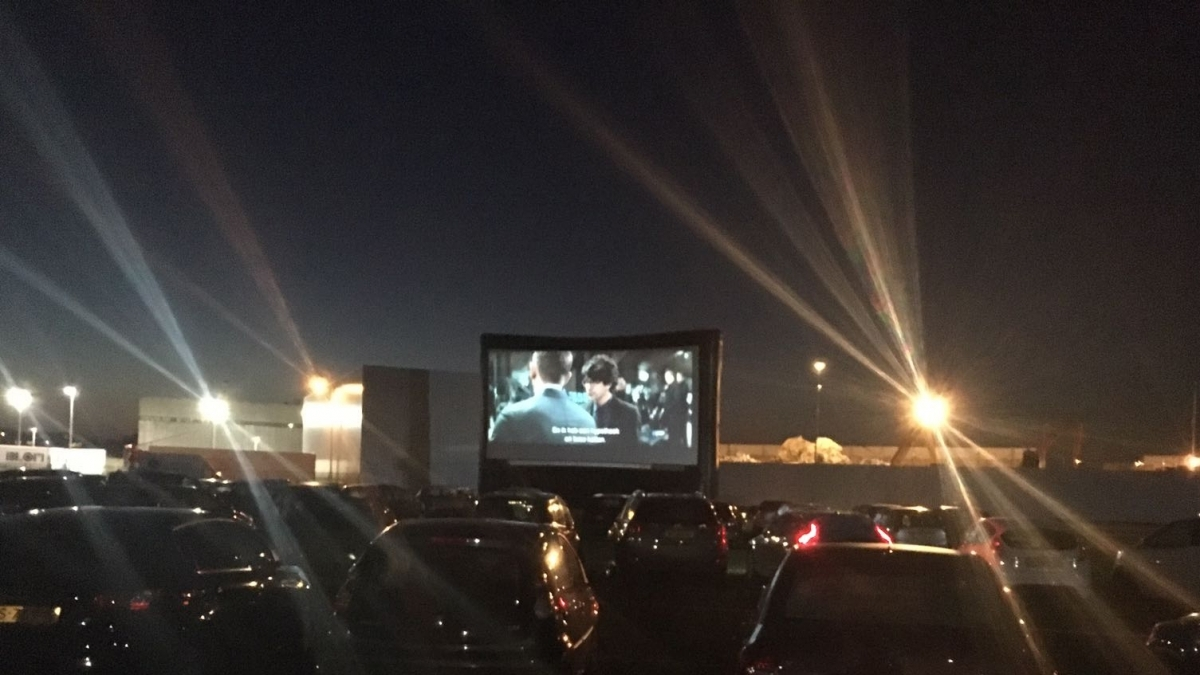 Alphense Drive-in Bioscoop met Mamma Mia!