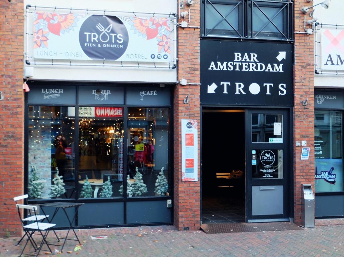 Restaurant TROTS maakt plaats voor nieuw concept