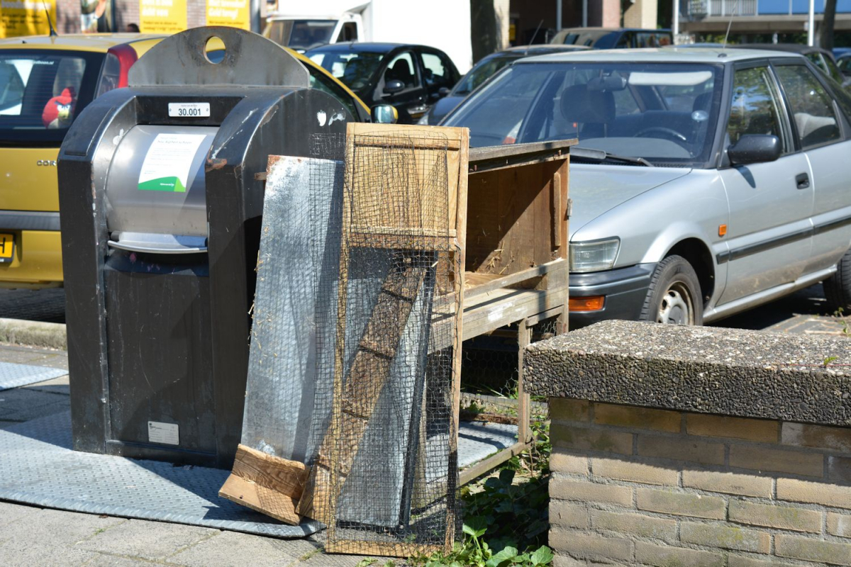 Informatie over afvalscheiding in gemeentehuis