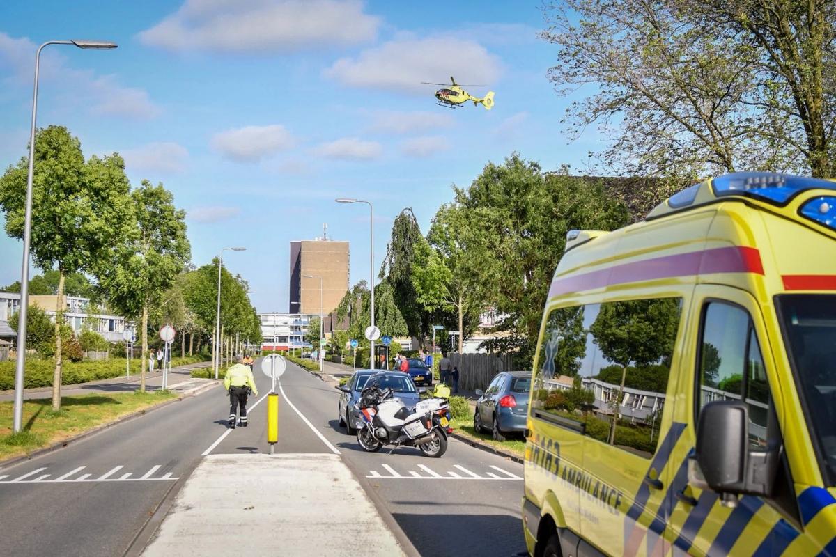 Traumahelikopter opgeroepen voor ongeval IJzerweg