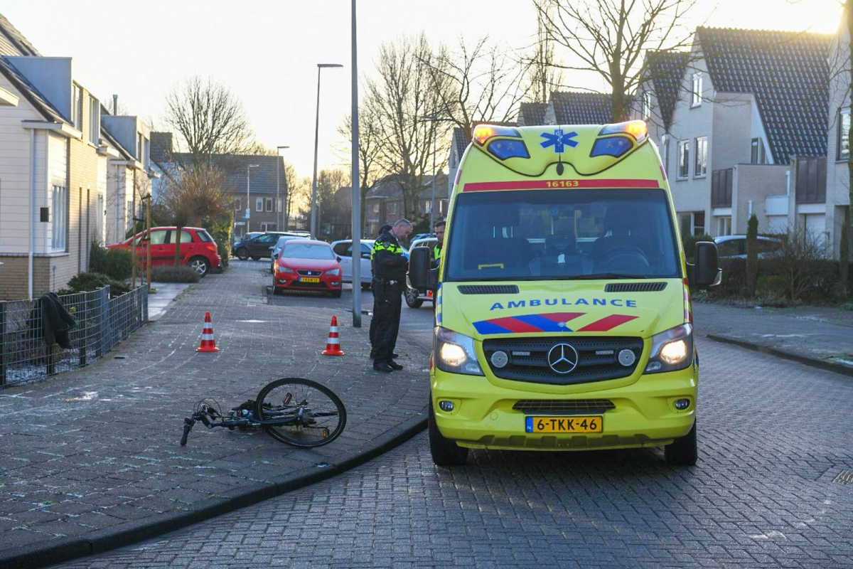 Fietser gewond na aanrijding op de Paltrokmolen