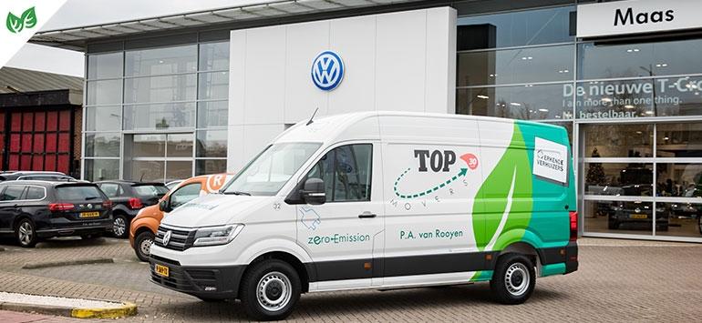Allereerste e-Crafter voor Top Movers P.A. van Rooyen