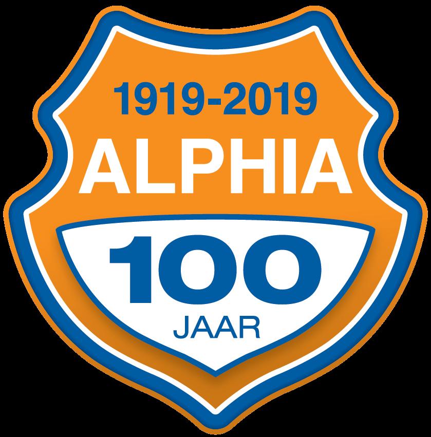 Alphia viert komend weekend 100-jarig bestaan