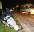 Scooterrijder gewond bij ongeval op de Rijndijk