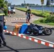 Maaltijdbezorger gewond na ongeval Woubrugseweg